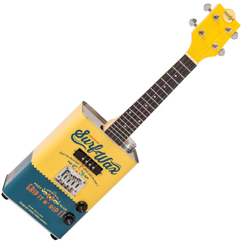 Bohemian Oil Can Ukulele ~ Surf Wax