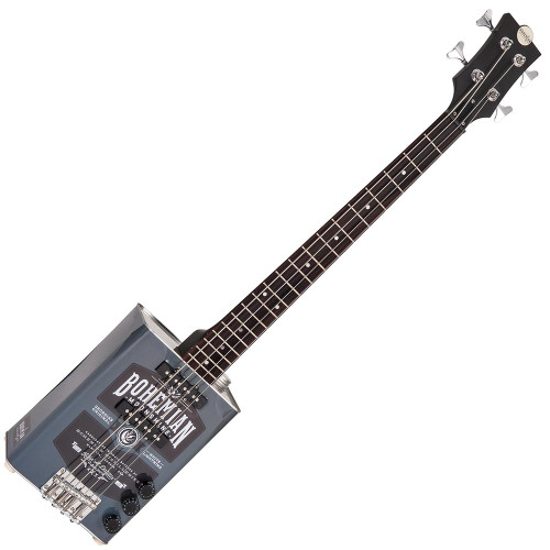 Bohemian Oil Can Bass Guitar ~ Moonshine