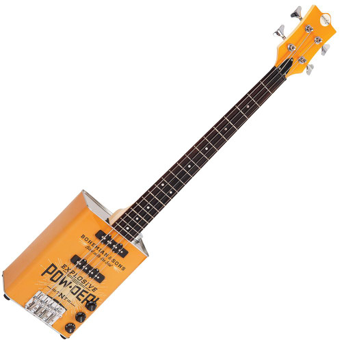 Bohemian Oil Can Bass Guitar ~ TNT