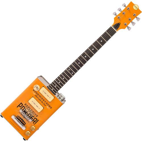 Bohemian Oil Can Guitar ~ 2 P90's ~ TNT