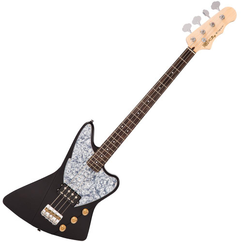 Fret-King Black Label Esprit Bass ~ Gloss Black