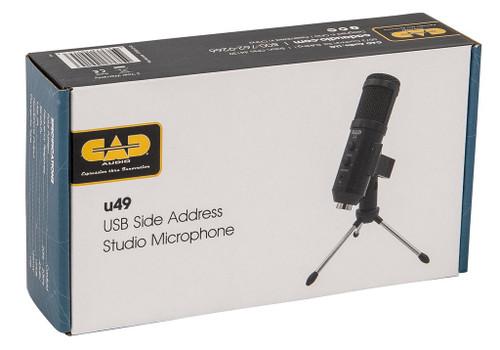 CAD USB Studio Microphone Kit with Headphone Monitor