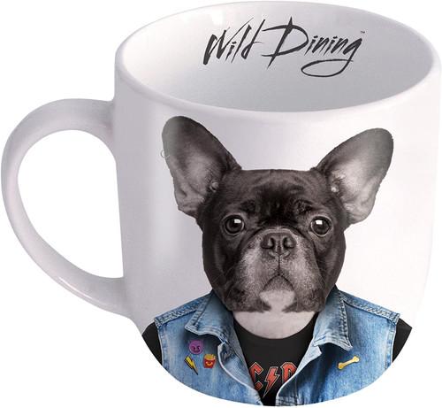 Mustard M12024D Dog Wild Dining Mug