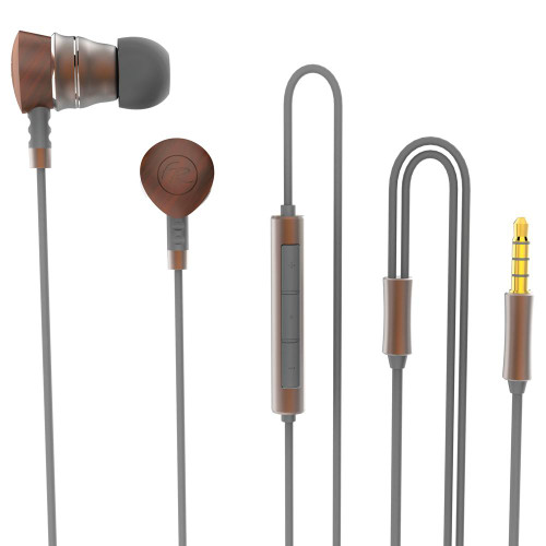 Floyd Rose Dual Driver Bluetooth® Earbuds ~ Brown - SPECIAL OFFER!!