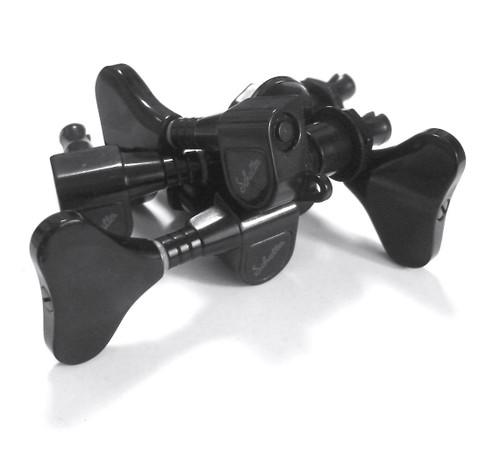 Rickenbacker Part 00510 - M4 Machine Head Set for Bass Black