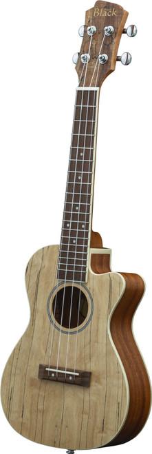 Adam Black Exotic Wood Series Concert CE Ukulele - Spalted Maple