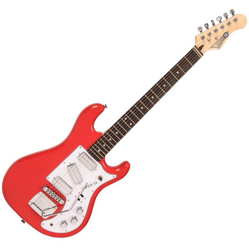 Rapier 33 Electric Guitar ~ Fiesta Red