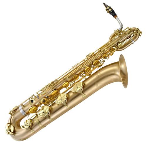 P. Mauriat Le Bravo 200 Baritone Sax ~ Gold Lacquer