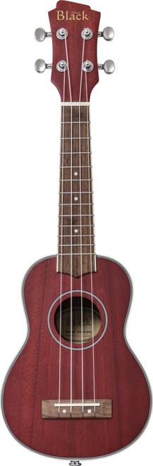 Adam Black SB120 Electro Soprano Ukulele - Wine Red