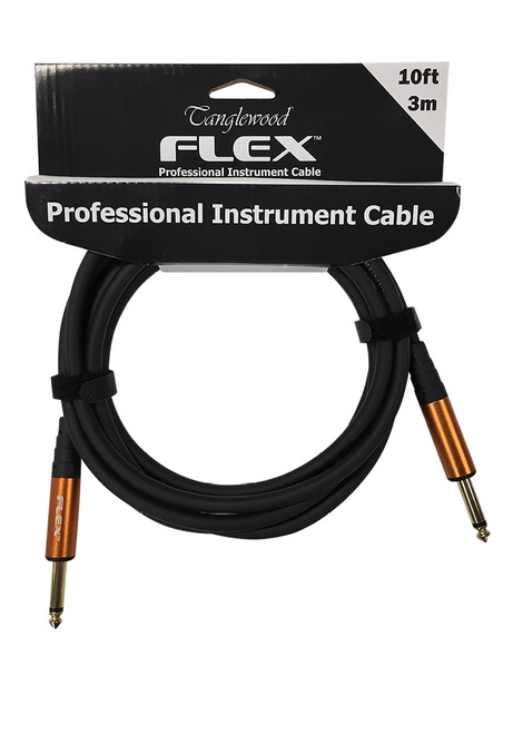 <p>In stock and ready to ship at MorMusic</p><p>Seen it cheaper elsewhere? We'll aim to match or beat any like for like price!</p><p>Tanglewood FX3 Tanglewood Flex 3 Metre 6mm Thick Rubber Cable</p>
