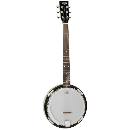 <p>In stock and ready to ship at MorMusic</p><p>Seen it cheaper elsewhere? We'll aim to match or beat any like for like price!</p><p>Drawing on the time honoured tradition of bespoke folk instrument manufacturing in the Southern states of America, Tanglewood Banjos are handcrafted in authentic, period designs. This allows players of all abilities to find their perfect model, based on both specification and price point. Union series instruments are tailored to meet the needs of the entry level to intermediate player representing features and quality far beyond most instruments amongst their industry peers.</p> <ul> <li><span>TYPE:</span>&nbsp;6 String Banjo</li> <li><span>TUNING:</span>&nbsp;E, A, D, G, B, E</li> <li><span>BRACKETS:</span>&nbsp;24</li> <li><span>RESONATOR:</span>&nbsp;Maple</li> <li><span>SIDES:&nbsp;</span>Maple</li> <li><span>NECK (MATERIAL):</span>&nbsp;Maple</li> <li><span>FINGERBOARD:</span>&nbsp;*</li> <li><span>BRIDGE:</span>&nbsp;Maple with Ebony tip</li> <li><span>TAILPIECE:</span>&nbsp;Chrome, Adjustable</li> <li><span>HEAD:&nbsp;</span>Remo Ivory</li> <li><span>INLAYS:</span>&nbsp;ABS White Dot (5mm)</li> <li><span>SCALE LENGTH:</span>&nbsp;665mm</li> <li><span>MACHINE HEADS:</span>&nbsp;Chrome Grover style</li> <li><span>FINISH:</span>&nbsp;Natural Gloss</li> <li><span>SKU:</span>&nbsp;TWB18M6</li> <li><span>RANGE:</span>&nbsp;Banjos</li> <li><span>UPC:</span>&nbsp;810944015981</li> </ul> <p><em>*Timber in accordance with Cities regulations</em></p>