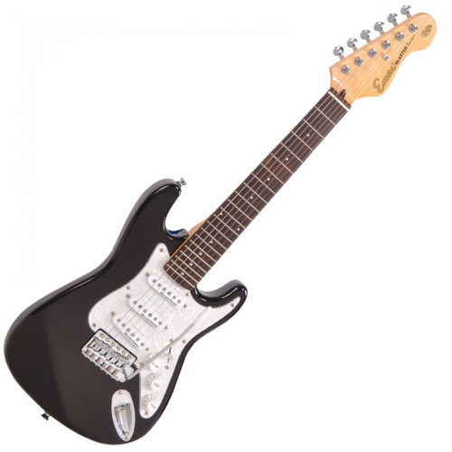 <p>In stock and ready to ship at MorMusic</p><p>Seen it cheaper elsewhere? We'll aim to match or beat any like for like price!</p><p><span>An urgent message for the rock guitar heroes of tomorrow &ndash; the music scene of the future needs you to get started on an electric guitar NOW! Don't worry if a full-size electric guitar is a bit too much of a stretch for young arms and hands at the moment. Encore's neat E375 3/4 size electric guitar lets you get to grips without the pain of over-stretching and its&nbsp;twin cutaway body shape of the has been carefully dimensioned to be small,&nbsp;comfortable and balanced.</span></p>
