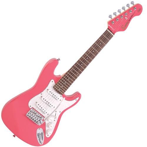 <p>In stock and ready to ship at MorMusic</p><p>Seen it cheaper elsewhere? We'll aim to match or beat any like for like price!</p><p>An urgent message for the rock guitar heroes of tomorrow åÐ the music scene of the future needs you to get started on an electric guitar NOW! Don't worry if a full-size electric guitar is a bit too much of a stretch for young arms and hands at the moment. Encore's neat E375 3/4 size electric guitar lets you get to grips without the pain of over-stretching and its&nbsp;twin cutaway body shape of the has been carefully dimensioned to be small,&nbsp;comfortable and balanced.<br></p>