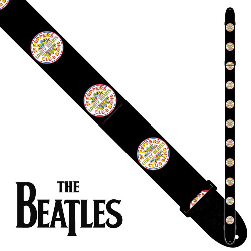 <p>In stock and ready to ship at MorMusic</p><p>Seen it cheaper elsewhere? We'll aim to match or beat any like for like price!</p><p>PERRI 6083 THE BEATLES 2inch POLY STRAP - SGT PEPPERS</p>