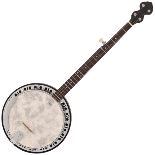 <p>In stock and ready to ship at MorMusic</p><p>Seen it cheaper elsewhere? We'll aim to match or beat any like for like price!</p>Designed with the serious player in mind, Rocky Mountain Series Banjos are built using only the best hardware and tone woods, and come fitted with Remo Weatherking heads and quality brass tone rings, producing that classic bluegrass sound.