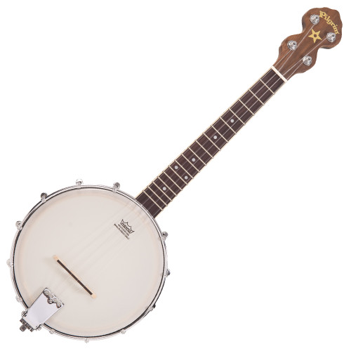 <p>In stock and ready to ship at MorMusic</p><p>Seen it cheaper elsewhere? We'll aim to match or beat any like for like price!</p>The classic ukulele banjo, built to Paul Tebbuttí«í´s exacting standards and featuring an open back and resonator models.