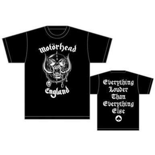 <p>In stock and ready to ship at MorMusic</p><p>Seen it cheaper elsewhere? We'll aim to match or beat any like for like price!</p><h1>MOTORHEAD MEN'S TEE: ENGLAND, OFFICIALLY LICENCED.</h1>