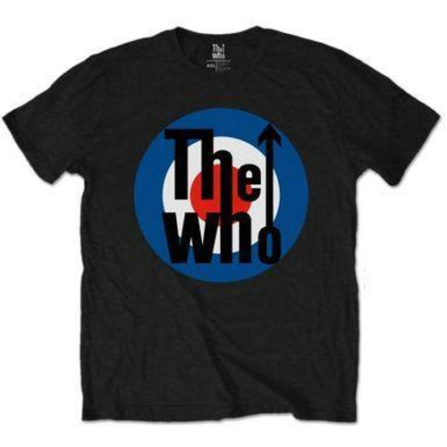 <p>In stock and ready to ship at MorMusic</p><p>Seen it cheaper elsewhere? We'll aim to match or beat any like for like price!</p><p>OFFICIALLY LICENSED&nbsp;</p> <h1>THE WHO MEN'S TEE: TARGET CLASSIC</h1>