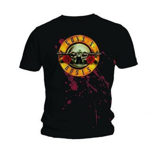 <p>In stock and ready to ship at MorMusic</p><p>Seen it cheaper elsewhere? We'll aim to match or beat any like for like price!</p><p><span>This regular-fit t-shirt features the Guns N Roses 'Bullet' design printed across the chest with a plain back. Printed on a Gildan soft style T-shirt for added comfort, 150gsm 100% Cotton Pre-shrunk Jersey Knit, deluxe 30 ring spun softness, double needle sleeves and bottom hem, quarter-turned to eliminate centre crease.</span></p>