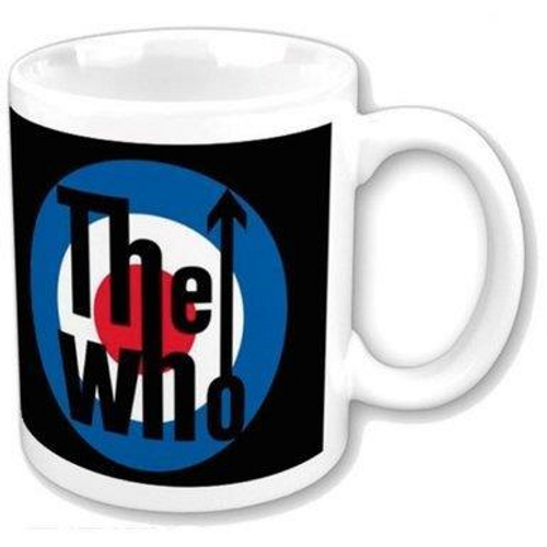 <p>In stock and ready to ship at MorMusic</p><p>Seen it cheaper elsewhere? We'll aim to match or beat any like for like price!</p><h1>THE WHO BOXED STANDARD MUG: TARGET LOGO</h1> <p><span>The Who 11oz (approx 320 mls) Boxed Standard Mug in White ceramic and featuring the 'The Who Target Logo' design motif. Comes gift packaged in a co-ordinated box</span></p>