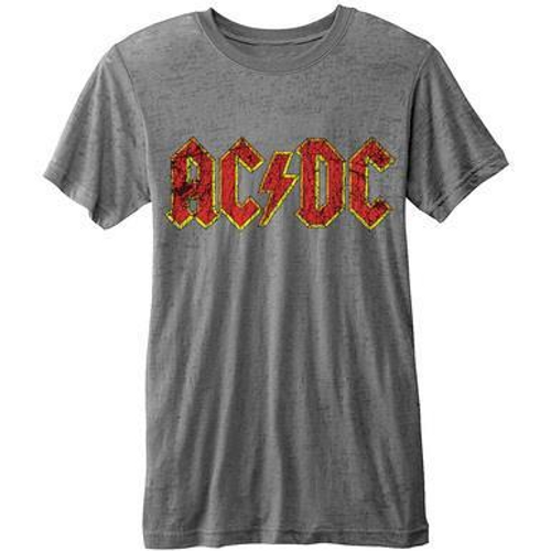 <p>In stock and ready to ship at MorMusic</p><p>Seen it cheaper elsewhere? We'll aim to match or beat any like for like price!</p><p><span>Quality, licensed AC/DC premium edition men's burn-out tee featuring the AC/DC Logo design motif.&nbsp;</span></p>