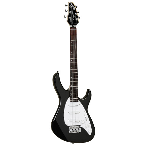 <p>In stock and ready to ship at MorMusic</p><p>Seen it cheaper elsewhere? We'll aim to match or beat any like for like price!</p>The Tanglewood Baretta electric guitars are a modern take on a classic design. The deep double cut-away Basswood body allows for exceptional access to the upper frets of the solid maple neck and the accompanying rosewood fretboard, all finished with die cast chrome hardware. The Vintage output single coil pickups are sure to deliver a well-balanced tone, with a familiar way switching system, 1 volume and 2 tone controls. Available in Cherry Red, Arctic White, Metallic Blue, Metallic black gloss finishes.