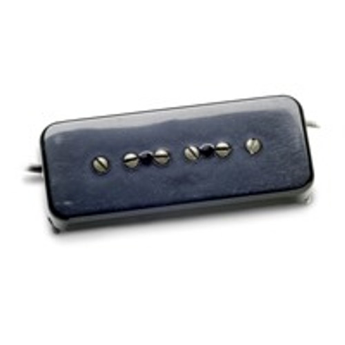 <p>In stock and ready to ship at MorMusic</p><p>Seen it cheaper elsewhere? We'll aim to match or beat any like for like price!</p>Summary Capture the sweet, weathered neck position single coil tone of an old 52 Goldtop with our period correct Antiquity P90 Soapbar. Neck Description Our Antiquity P90 Soapbar uses two specially calibrated alnico 2 bar magnets, and a custom coil wind to deliver the sweet, vintage correct growl of an early 50s Les Paul neck pickup. Chords are full and round sounding, and single notes have a sweet, musical, singing quality. It is also wound RWRP to be hum-cancelling with a matching bridge position model. When you remove our hand aged soapbar cover, youÂ'll find the same hand fabricated bobbin, plain enamel mag wire, and flatback tape that was made in Kalamazoo during the early days. This pickup is a drop-in replacement for any standard Gibson P90 sized soapbar route, and is available in black or cream aged covers. Bridge Description Our Antiquity P90 Soapbar uses two specially calibrated alnico 2 bar magnets, and a custom coil wind to deliver the gritty, vintage correct growl of an early 50s Les Paul bridge pickup. Chords have a warm but sparkly midrange grit, and single notes jump out nicely without sounding harsh. When you remove our hand aged soapbar cover, youll find the same hand fabricated bobbin, plain enamel mag wire, and flatback tape that was made in Kalamazoo during the early days. This pickup is a drop-in replacement for any standard Gibson P90 sized soapbar route, and is available in black or cream aged covers.