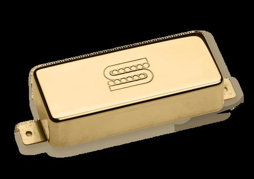 Seymour Duncan Custom Mini Humbucker SM-2B - Bridge Gold