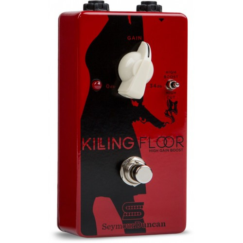 "<p>In stock and ready to ship at MorMusic</p><p>Seen it cheaper elsewhere? We'll aim to match or beat any like for like price!</p><h4>Summary</h4> <p>The Killing Floor High Gain Boost is both a volume boost and a musical amp-like overdrive all in one.</p> <h4>Description</h4> <div class=""description""> <p>The Killing Floor High Gain Boost gives you both a volume boost and a musical amp-like overdrive all in one, with an unmistakable, undeniable bluesy feel. Use it to boost your overall output for solos, to push an amp further into overdrive, or for a beefy, expressive solo tone. It&rsquo;s also great as an &lsquo;always on&rsquo; pedal for adding the finishing touch to your tone; it&rsquo;s like an overall enhancer for your entire sound.</p> <p class=""more-hide"">The single control knob gives you up to a whopping 34 dB of additional gain for amazing range, from subtle boost to brash chords to a full, fat overdriven lead, while the 3-way Voicing toggle switch lets you sculpt your high end with a boost at 10K, a cut at 4.8K or a flat setting. Use this switch to take the bite out of overly bright single coils, put more sting into a dark humbucker or to add crystal clear, boutique-style airiness to your tone.</p> <div class=""morer""> <div class=""morer""> <div class=""morer""> <p class=""more-child"">The Killing Floor is made in the USA and is True Bypass.</p> </div> </div> </div> </div>"