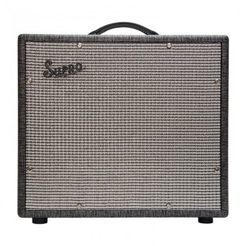 <p>In stock and ready to ship at MorMusic</p><p>Seen it cheaper elsewhere? We'll aim to match or beat any like for like price!</p><p>SUPRO BLACK MAGICK 1 X 12 EXTENSION CABINET</p> <p><span>The Supro 1790 1 x 12 Black Magick Extension cabinet is designed to match to the award-winning 1695T Black Magick amplifier.</span><br /><br /><span>Sized to fit perfectly underneath the Black Magick 1 x 12 combo, the 1790 is a partially open-back, vintage-style 1 x 12 extension cabinet loaded with Supro BD12 driver to match the on-board speaker in the Black Magick combo for even more mid-range punch and stage volume. This custom-made, high-power driver was designed especially for the Black Magick amplifier using a specialty British cone, top-of-the-line suspension and an oversize ceramic magnet.</span><br /><br /><span>With the 1 x 12&rdquo; extension cabinet connected along with the combo&rsquo;s 12&rdquo; internal speaker, the Supro Black Magick amplifier runs down at 4-ohms, developing maximum power from its Class-A output section. The Supro 1790 Black Magick extension cabinet adds considerable versatility for larger stages and pedal-based rigs where maximum headroom is required from a compact, vintage flavored combo.</span><br /><br /><span>Specifictions:</span><br /><span>&bull; Supro BD12 Speaker</span><br /><span>&bull; 75 Watts power handling</span><br /><span>&bull; 8-Ohm Mono</span><br /><span>&bull; British Cone</span><br /><span>&bull; 2&rdquo; Voice coil</span><br /><span>&bull; 56oz Magnet</span><br /><span>&bull; Pairs with: 1695T Black Magick</span><br /><span>&bull; 20 1/2&Prime; x 18 3/4&Prime; x 8 3/4&Prime;</span><br /><span>&bull; 52 x 47.6 x 22.2 cm</span></p>