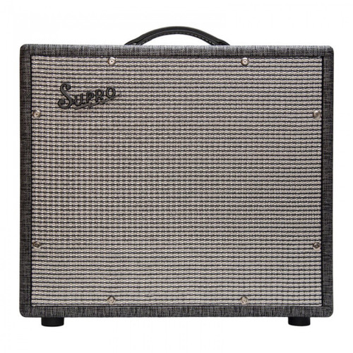 <p>In stock and ready to ship at MorMusic</p><p>Seen it cheaper elsewhere? We'll aim to match or beat any like for like price!</p><p>SUPRO BLACK MAGICK 1 X 15 EXTENSION CABINET</p> <p><span>The Supro 1791 1 x 15 Black Magick Extension cabinet is an ideal companion to the award-winning 1695T Black Magick amplifier.</span><br /><br /><span>Sized to fit perfectly underneath the Black Magick combo amplifier, the 1791 is a partially open-back, vintage-style 1 x 15 extension cabinet loaded with a custom-made, Supro BD15 speaker, developed especially for this cabinet. This all-new high-power 15&rdquo; driver combines the speaker cone found in our Supro Thunderbolt combo amplifier with the top-of-the-line suspension and huge magnet from the Black Magick speaker to achieve serious low- end punch and phenomenal mid-range projection.</span><br /><br /><span>With the 1 x 15&rdquo; extension cabinet connected along with the combo&rsquo;s 12&rdquo; internal speaker, the Supro Black Magick amplifier runs down at 4-ohms, developing maximum power from its Class-A output section. The Supro 1791 Black Magick extension cabinet adds considerable versatility for larger stages and pedal-based rigs where maximum headroom is required from a compact, vintage flavored combo.</span><br /><br /><span>Specifications:</span><br /><span>&bull; Supro BD15 Speaker</span><br /><span>&bull; 75 Watts power handling</span><br /><span>&bull; 8-Ohm Mono</span><br /><span>&bull; Thunderbolt Cone</span><br /><span>&bull; 2&rdquo; Voice coil</span><br /><span>&bull; 56oz Magnet</span><br /><span>&bull; Pairs with: 1695T Black Magick</span><br /><span>&bull; 20 1/2&Prime; x 18 3/4&Prime; x 8 3/4&Prime;</span><br /><span>&bull; 52 x 47.6 x 22.2 cm</span></p>