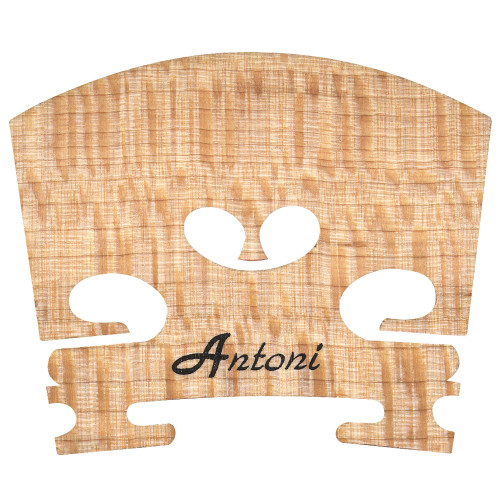 <p>Uncut selected maple bridge accurately shaped for violin.</p>