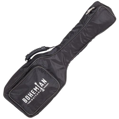 <p>In stock and ready to ship at MorMusic</p><p>Seen it cheaper elsewhere? We'll aim to match or beat any like for like price!</p><p>BOHEMIAN UKULELE GIG BAG - BLACK</p> <p>&nbsp;</p> <p>&nbsp;</p> <h3>Specifications:</h3> <p>Protect your Bohemian Uke with this gig bag made specifically for your Boho.</p> <ul> <li>External pocket</li> <li>Black Exterior</li> <li>Black Stitching</li> <li>Black Piping</li> <li>Black molded handle</li> <li>Black and White Rubber logo</li> </ul>