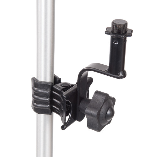 <p>In stock and ready to ship at MorMusic</p><p>Seen it cheaper elsewhere? We'll aim to match or beat any like for like price!</p>Mic HolderåÊ <div>åÊ</div> <div>All our clamp-on holders come in a classy black finish,åÊ</div> <div>are very easy to use and have a very firm grip,åÊ</div> <div>and they're strong enough to take whatever weight you throw at them,åÊ</div> <div>time and time again.</div>