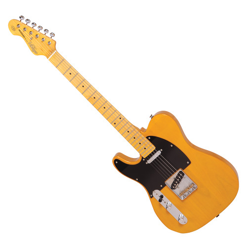 <p>In stock and ready to ship at MorMusic</p><p>Seen it cheaper elsewhere? We'll aim to match or beat any like for like price!</p><p>VINTAGE V52 LEFT HANDED ELECTRIC GUITAR - BUTTERSCOTCH</p>