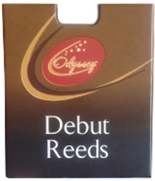 <p>In stock and ready to ship at MorMusic</p><p>Seen it cheaper elsewhere? We'll aim to match or beat any like for like price!</p><p>Odyssey Debut Reeds, Alto Sax, 1.5 (Pack of 10)</p> <p>Sold Individually.</p> <p>Made in France, Odyssey Debut Reeds are crafted from the finest French cane by one of the world&rsquo;s leading reed manufacturers. Cane is selected by its season and the textures of its fibres, which governs its quality, suppleness and resilience. Only the finest cane is selected and cut for Odyssey Debut Reeds. Debut reeds are specifically selected and cut to ensure easy playability for students who will find them long lasting and, most importantly, consistently playable - reed after reed. Odyssey Debut Reeds are available in packs of 10 in the most popular strengths for Alto Saxophone and Clarinet. The reeds can also be sold separately as they are individually packed.</p>