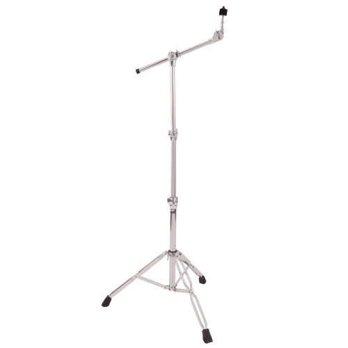 <p>In stock and ready to ship at MorMusic</p><p>Seen it cheaper elsewhere? We'll aim to match or beat any like for like price!</p>32mm and 25mm diameter steel tubing. Heavy duty, double braced, wide span,two tier stand with fully adjustable boom arm. These PP Drums stands have incredibly smooth action and rock solid clamping brackets so they won't let you down when you need it most! Large non-slip feet ensure your stands stay put under the heaviest use.