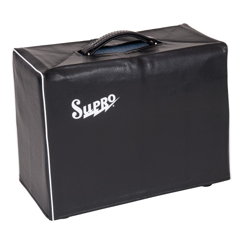 <p>In stock and ready to ship at MorMusic</p><p>Seen it cheaper elsewhere? We'll aim to match or beat any like for like price!</p><p>SUPRO BLACK AMP COVER - FITS 1 X 10 COMBO</p> <p><span>Supro VC10 BLACK AMP COVER - FITS 1 X 10 COMBO 2Protect your USA designed and built Supro amp from the knocks, bumps and drizzle of everyday life on the road with the firms new Amp Covers. These smart looking, snug fitting, lined black leatherette covers feature a handle cut-out and classic white piping and the legendary Supro logo</span></p>