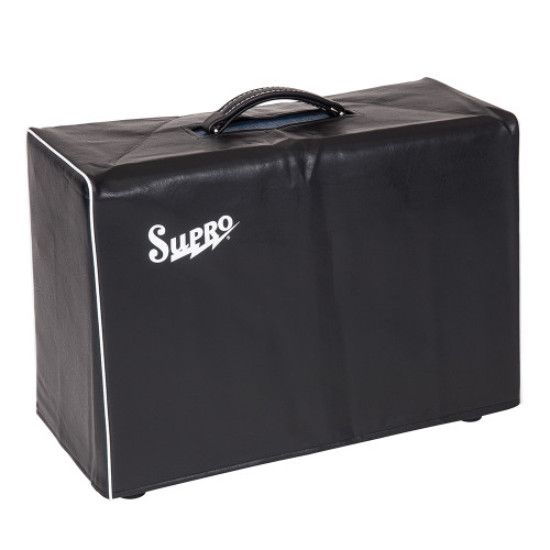 <p>In stock and ready to ship at MorMusic</p><p>Seen it cheaper elsewhere? We'll aim to match or beat any like for like price!</p><p>SUPRO BLACK AMP COVER - FITS 1 X 12 AND 2 X 10 COMBO</p>