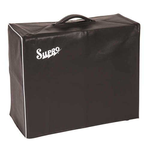 SUPRO BLACK AMP COVER - FITS 1 X 15 COMBO