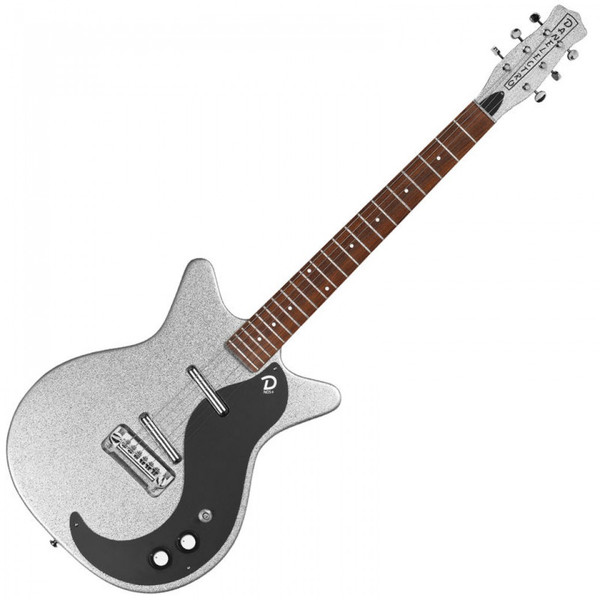 DANELECTRO 60TH ANNIVERSARY DC59 ~ SILVER METALFLAKE - SPECIAL OFFER!!