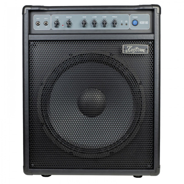 "KUSTOM KXB SERIES BASS AMP 1 X 15"" WITH 4 BAND EQ - 100W"