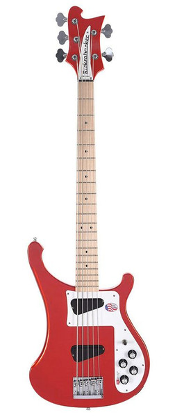 Rickenbacker 4003S5 5-String Bass - Limited Edition Pillar Box Red