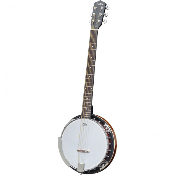 MorMusic - The Guitar Specialists Est 1985  In stock and ready to ship at MorMusic  Seen it cheaper elsewhere? We'll aim to match or beat any like for like price!  6-String Banjo supplied with Adam Black gigbag - guitar style feel and layout makes it the perfect choice for guitarists
