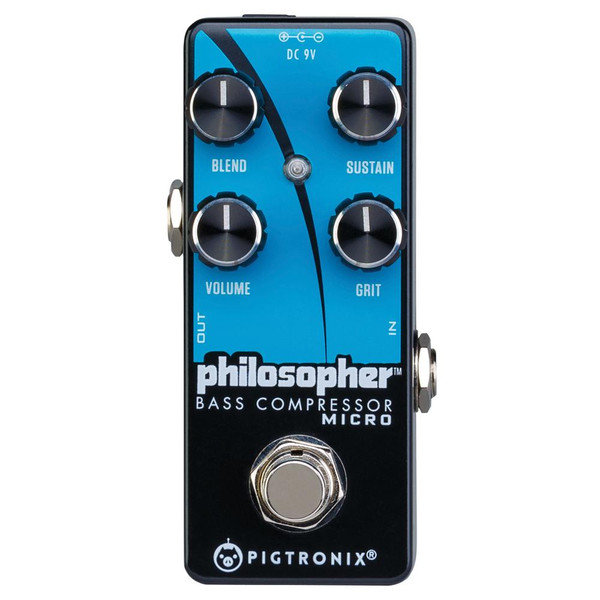 Pigtronix Philosopher Bass Compressor Micro - SPECIAL OFFER!!