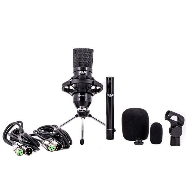 CAD GXL 1800 Studio Pack ~ 2 x Condenser Microphones