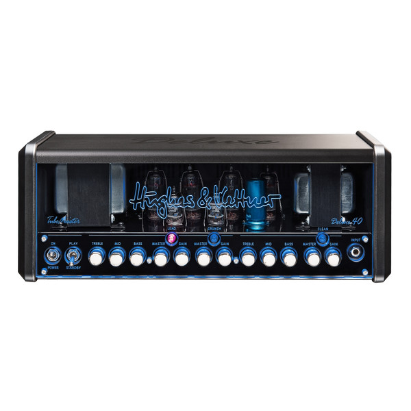 <p>Hughes and Kettner TubeMeister Deluxe 40</p> <p>THE BOSS OF LUNCHBOX AMPS JUST GOT A CHUNKY GOURMET BROTHER!</p> <p>Where TubeMeister is stunning, TubeMeister Deluxe is simply jaw dropping. Deluxe tones take you from pure, pristine cleans to an authentic brown sound and devastatingly powerful modern-day high gain, all influenced by the most beloved channels of our flagship TriAmp Mark 3.</p> <p>TubeMeister Deluxe 40 makes your job as a guitar player better sounding, easier, and a whole load more fun.</p> <p>Whether you Rock on Stage, Play at Home or Record at Night, TubeMeister Deluxe 40 is the ideal amp. The real power soak lets you switch between the full 40 Watts of power, 20 Watts, 5 Watts, 1 Watt, or even 0 Watts for truly silent recording at any time of day or night.</p> <p>TubeMeister Deluxe 20 is also the first tube amp ever to offer you a genuine FRFR (full range flat response) amp sound experience. The groundbreaking Red Box AE (Ambience Emulation) DI output lets you connect your guitar direct to your recording setup or the PA, so it&rsquo;s perfect for stage and studio work &ndash; and it delivers a perfect mix of authentic 4&times;12 cabinet ambience effects and an ultra-direct attack of pure tube tone.</p>