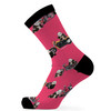 Digitally printed Bamboo Socks-Db003