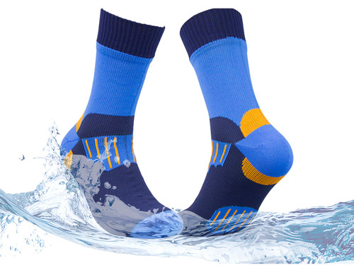 Waterproof socks--blue
