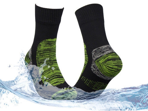 Waterproof socks--Green